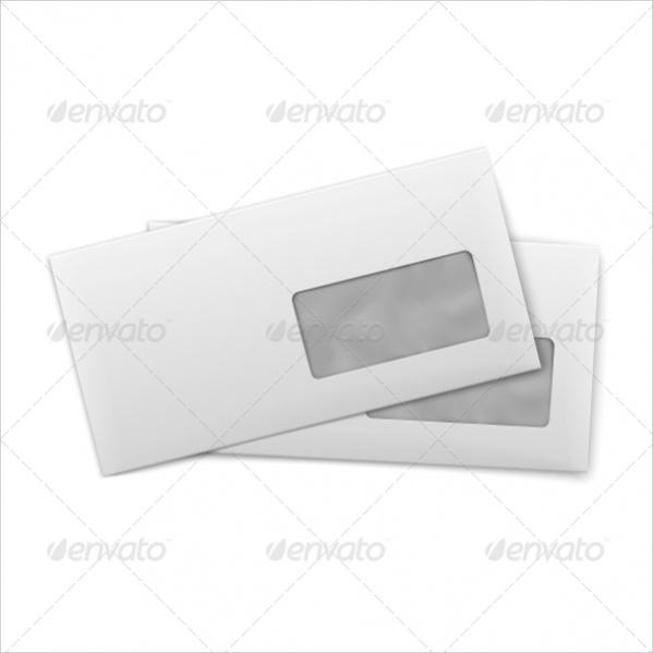 Blank Envelope Stationery