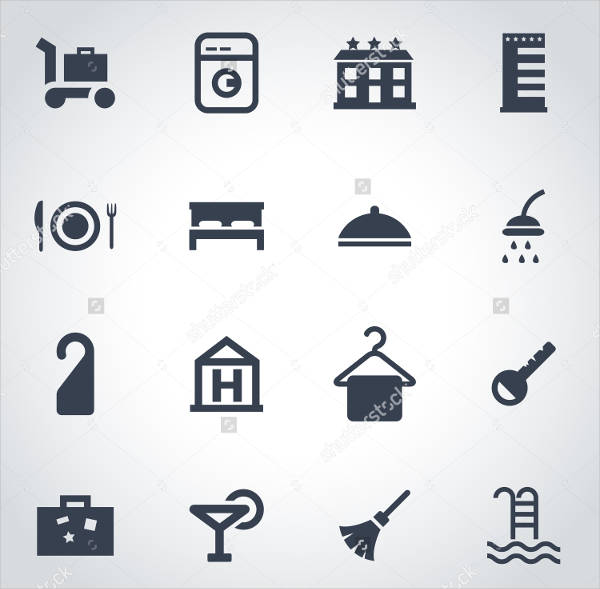 Blank Hotel Icons