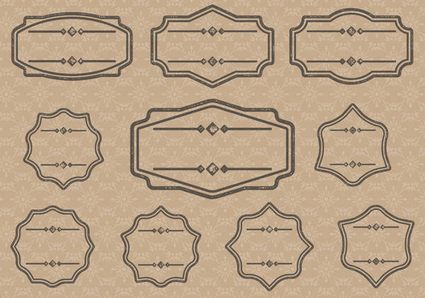 Blank Label Designs