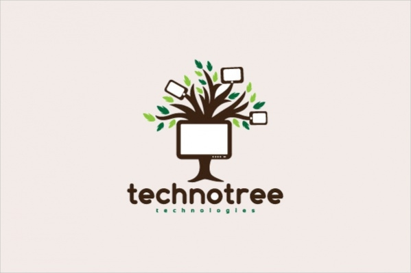 Branding Software Tree Logo