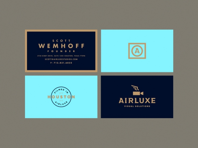 Branding Stamp Business Card