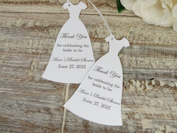 Bridal Shower Gift Tag