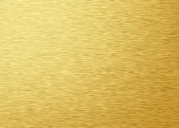 Brushed Gold Metal Texture