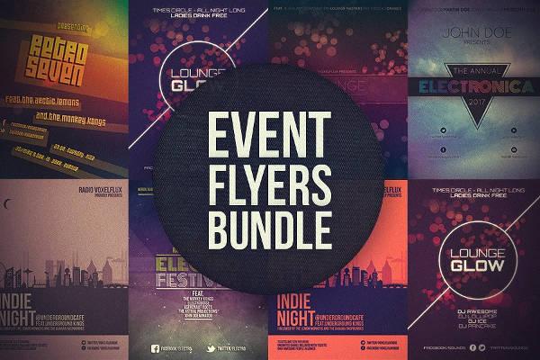 Bundle of Event Flyer