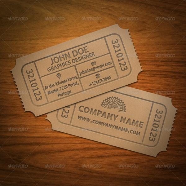 40 ticket designs psd vector eps ai illustrator download business card ticket design colourmoves