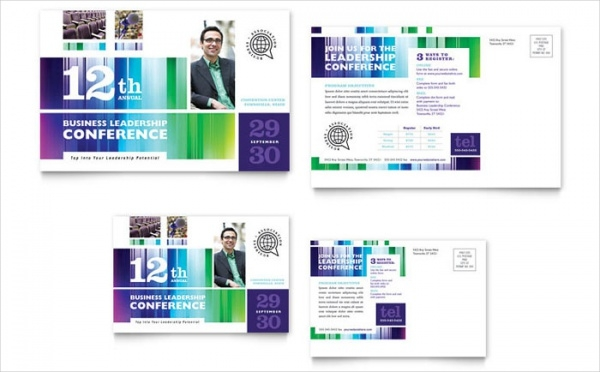 Business Conference Postcard
