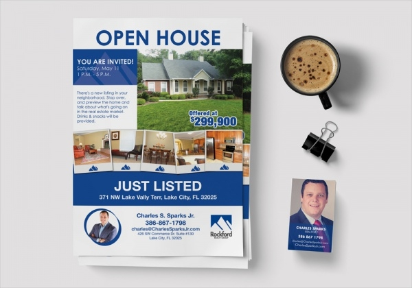 Open House Flyers  Psd Vector Eps Download