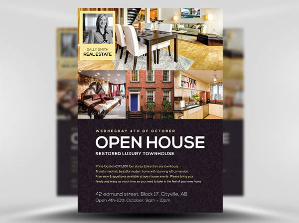 Business Open House Flyer