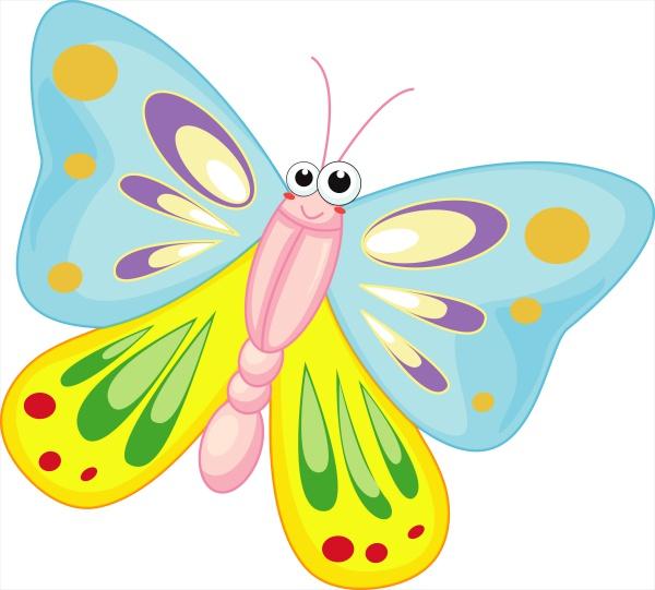Butterfly Cartoon Clipart