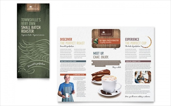 Cafe Brochure Design
