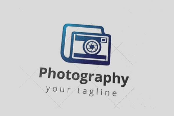 Camera Photography Studio Logo