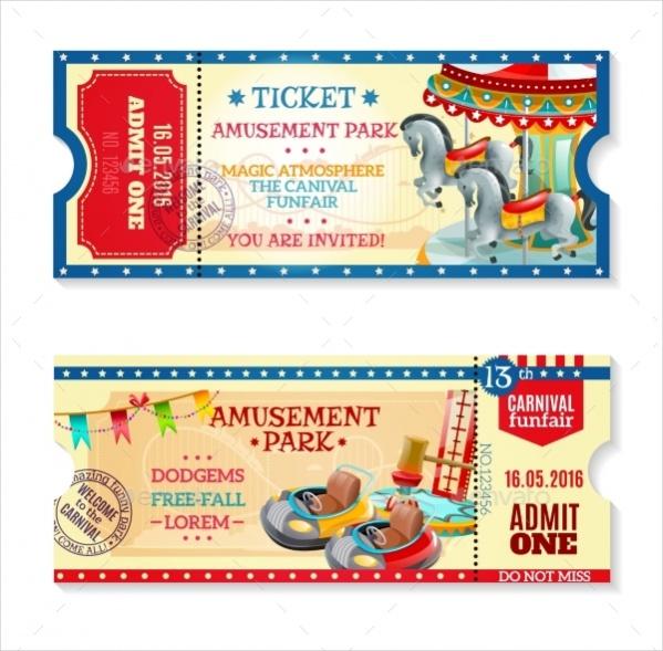 Carnival Invitation Tickets