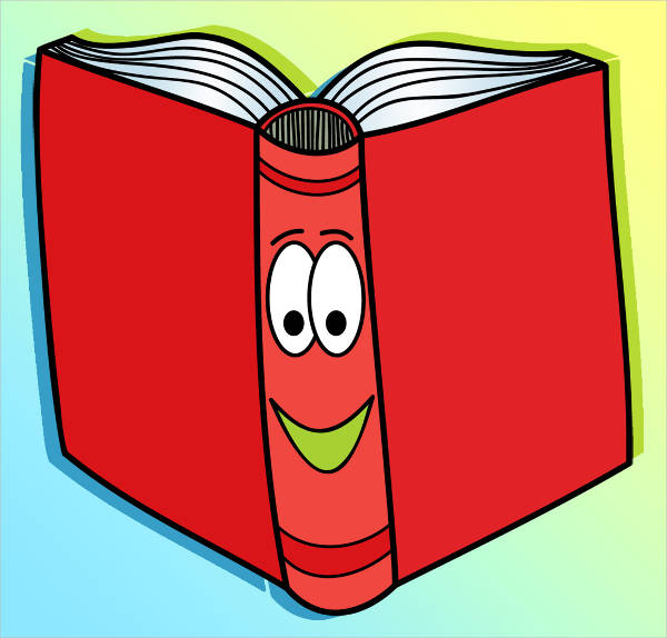 Cartoon Book Clipart