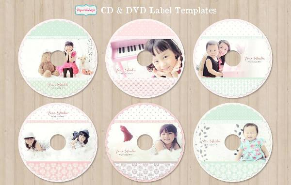Cd Label Template Design