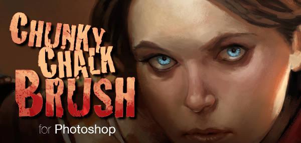 Chalk Brush Photoshop