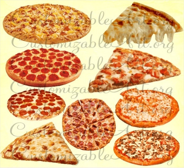 Cheese Pizza Clipart