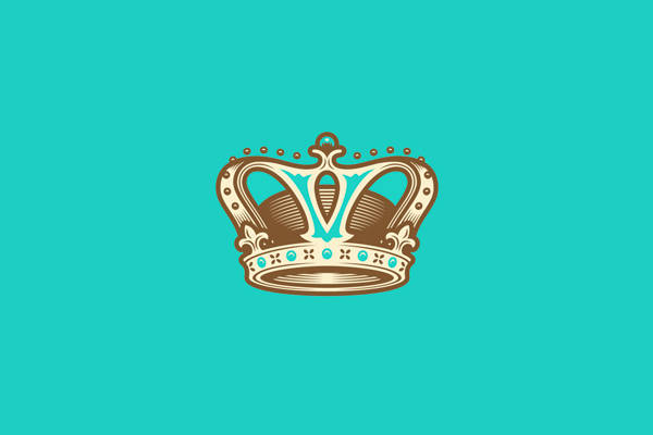 Chocolate Colored Crown Logo