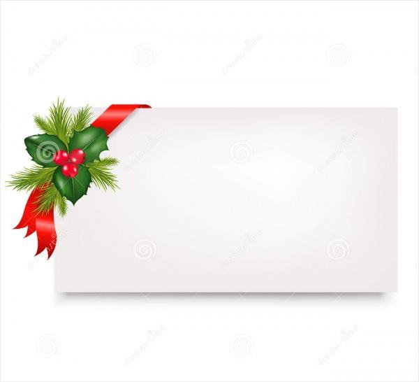 Christmas Blank Tags