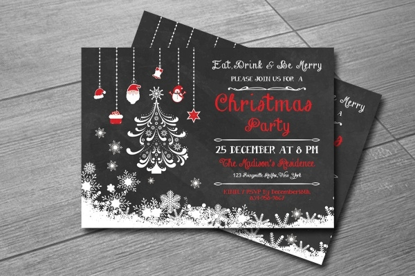 Christmas Printable Invitation