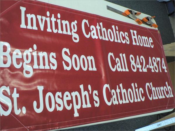 Church Outdoor Banner