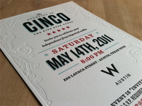 Cinco Party Invitation