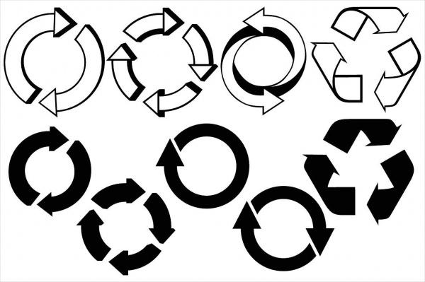 Circular Arrow Icons