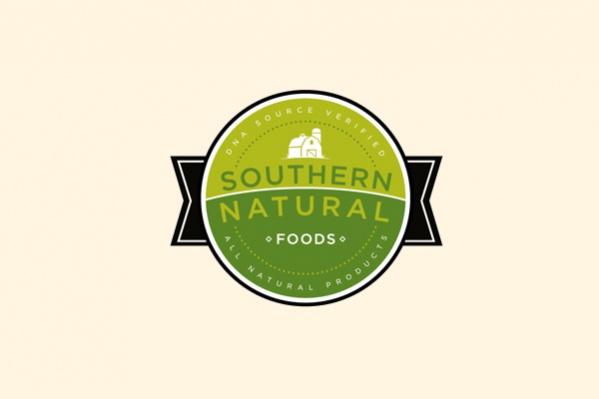Circular Farm Food Logo