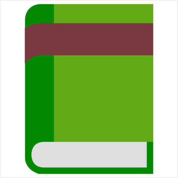 Closed Book Clipart