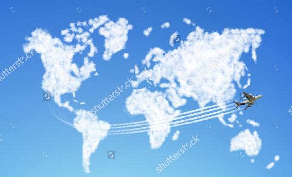 Cloud Shaped Like The World