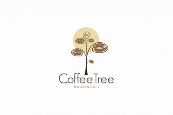 Coffee Bean tree Logo
