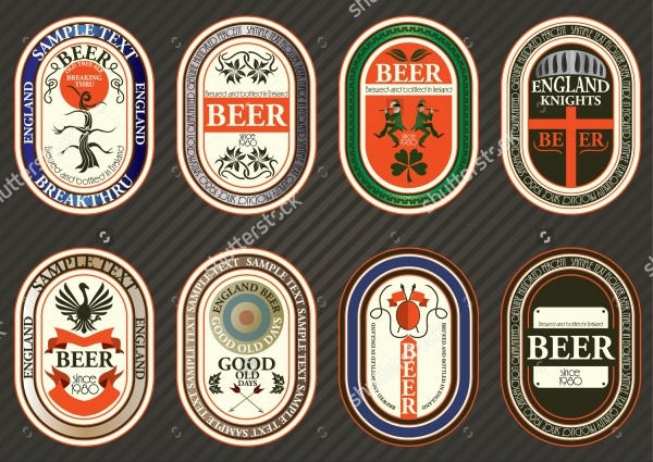 Collection Beer Label