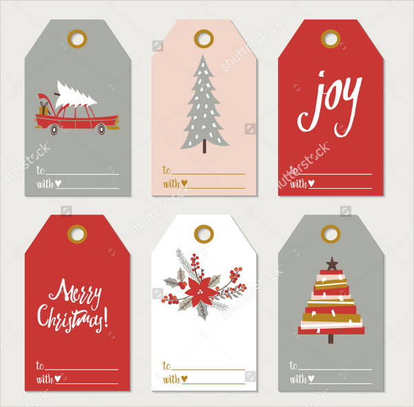 Collection of Christmas Gift Tags