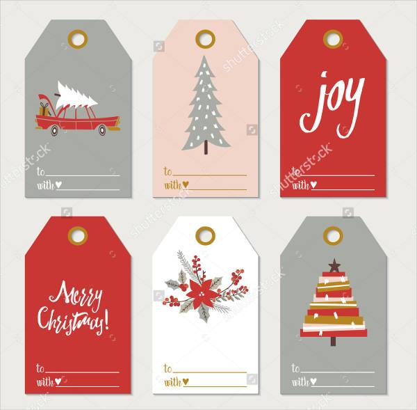 Collection of Christmas Gift Tags