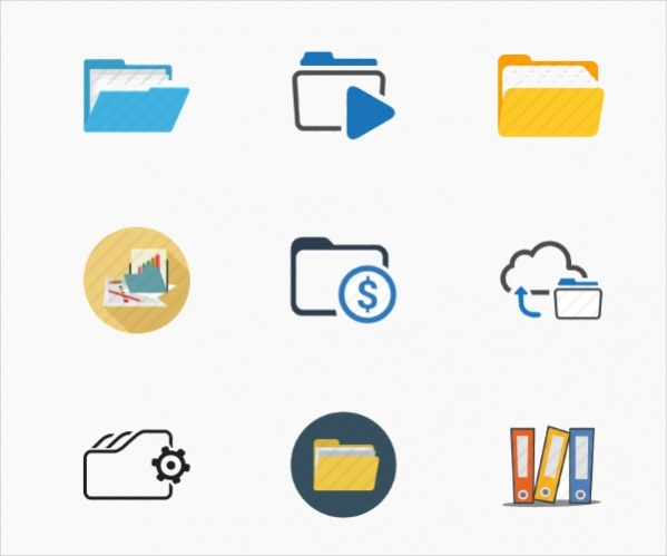 Collection of Free Folder Icons