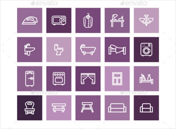 Collection of Home Icons