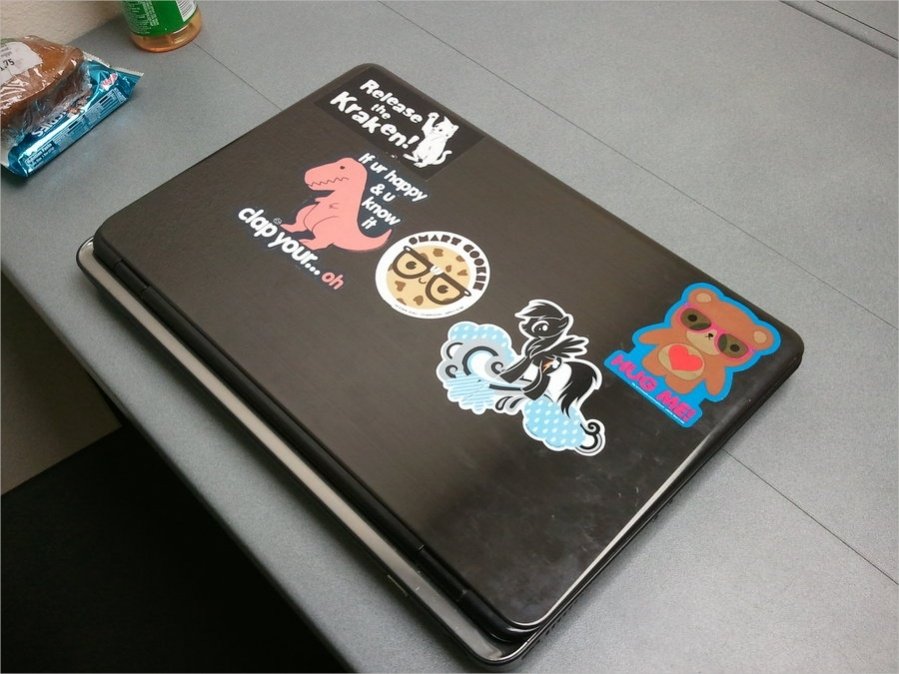 Collection of Laptop Stickers