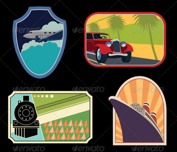 Collection of Luggage Label