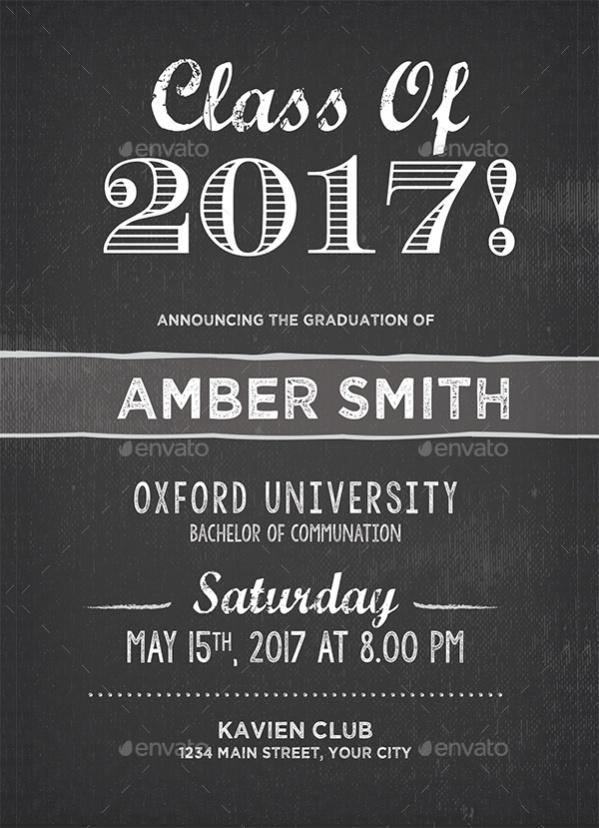 College Graduation Invitation Design