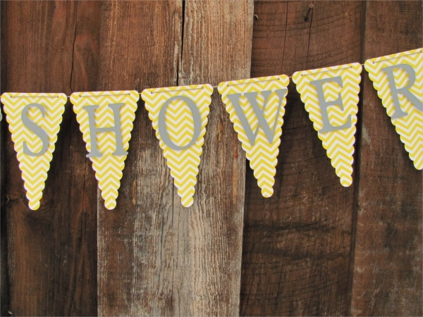 Colorful Baby Shower Banner