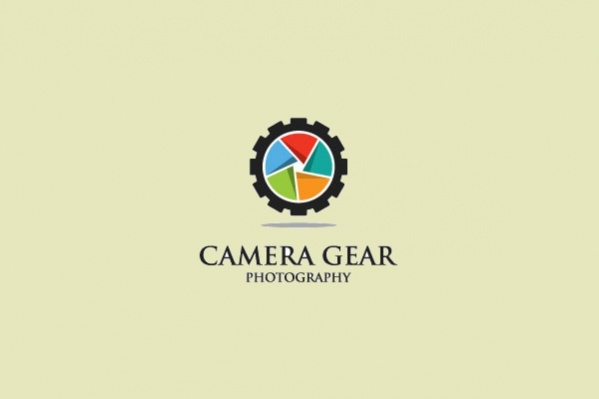 Colorful Camera Gear Photography