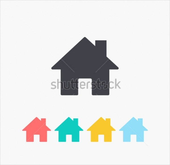 Colorful Home Icons
