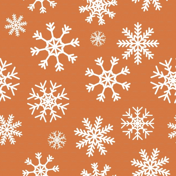 Colorful PSD Snowflake Pattern