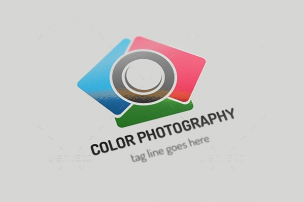 Colorful Photography Stock Logo