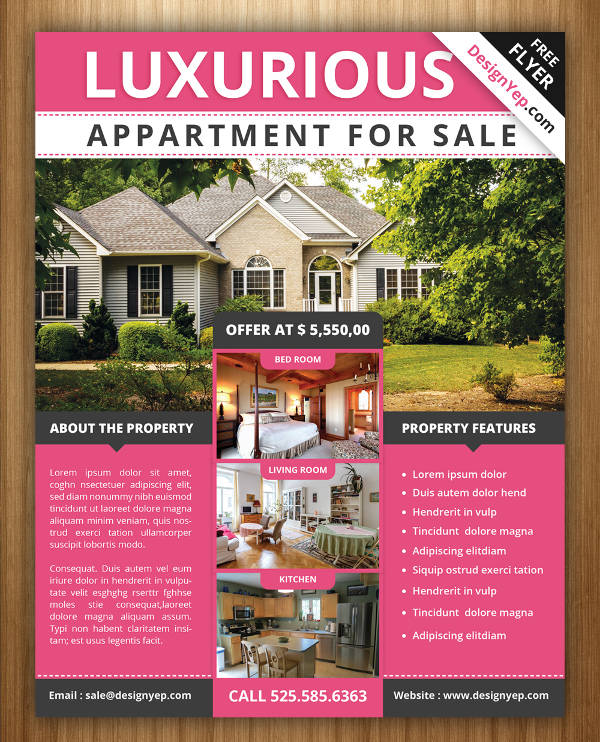 Colorful Realestate Flyer