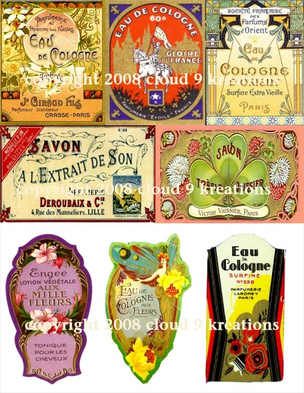 Colorful Soap Labels