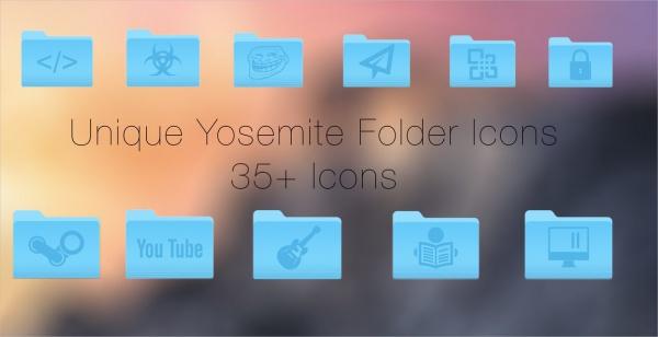 Colorful Unique Folder Icons