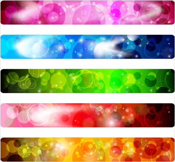 Colorful Vector Banner