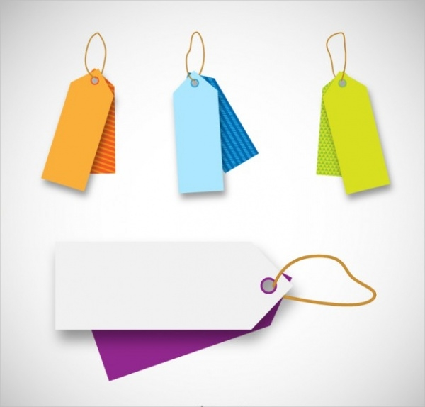 Colourful Price Tags