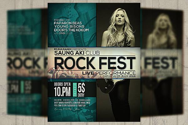 Concert Fest Poster