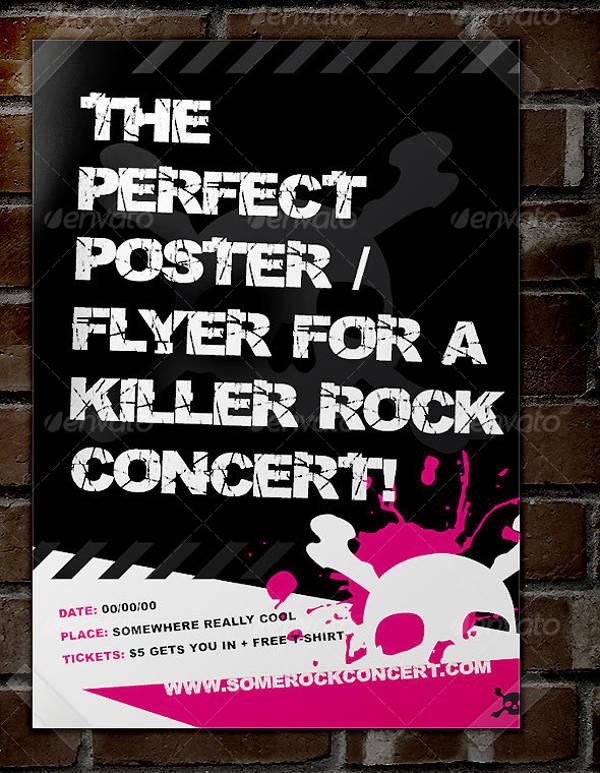 Concert Rock Festival Poster